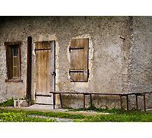Farmhouse entry Photographic Print