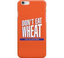 Don't Eat Wheat Gluten-Free Wheaties Logo iPhone Case/Skin