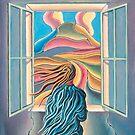 Girl by window by Alan Kenny
