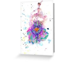 Watercolor Flower4 Greeting Card