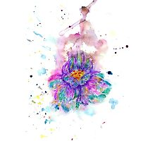 Watercolor Flower4 Photographic Print