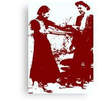 BONNIE AND CLYDE Canvas Print