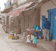 The Streets of Stonetown, Zanzibar by Adrian Paul