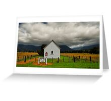 Lonesome Faith of the Golden Fields Greeting Card
