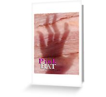 Australian PINK BAT © Greeting Card