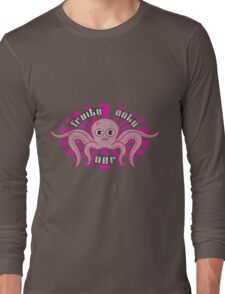 "Fruity Oaty Bar! ""OCTOPUS"" (Vintage) Long Sleeve T-Shirt"
