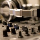 headphones and mixer by Brad Airs