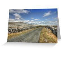 The Burren Road Greeting Card