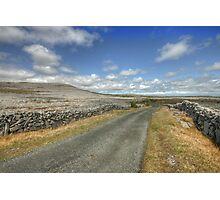 The Burren Road Photographic Print