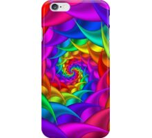 Psychedelic Rainbow Spiral  iPhone Case/Skin