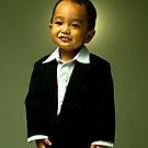 Little Cute Boy by Vici Arif