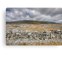 Slieve Carran Canvas Print