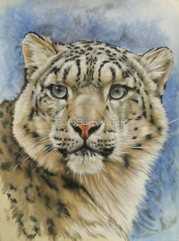 Berry's Snow Leopard by BarbBarcikKeith