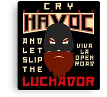 Son of Havoc Canvas Print