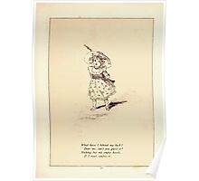 Rose Buds Virginia Gerson 1885 0055 What Have I Behind My Back Poster