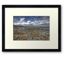 Burren Turlough Framed Print