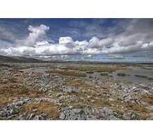 Burren Turlough Photographic Print