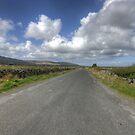 Burren road by John Quinn