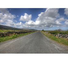 Burren road Photographic Print