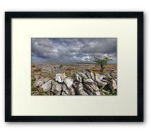 Burren Wall Framed Print