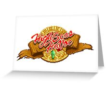 High Seas Havoc (logo) Greeting Card