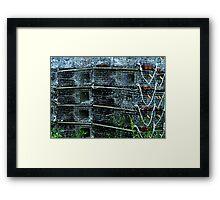 Lobster Traps Framed Print