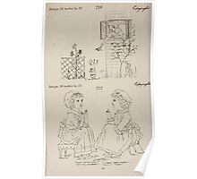 Briggs & Company Patent Transferring Papers Kate Greenaway 1886 0234 Poster