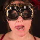 Hazel in Goggles by MatRicardo