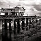 Princes Pier #2 by Christine  Wilson Photography