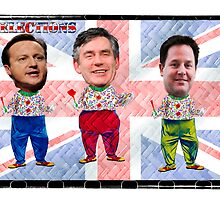 UK Election Special:-) Which Clown will you be voting for tomorrow??? LOL by DonDavisUK