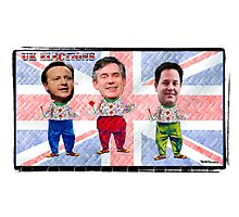 UK Election Special:-) Which Clown will you be voting for tomorrow??? LOL Photographic Print
