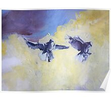 Sky Birds Poster