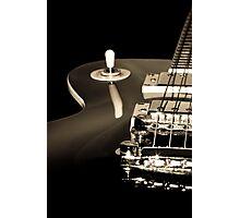 Vintage Electric Guitar Photographic Print