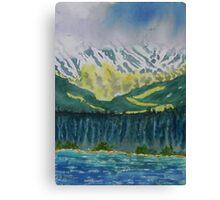 Juneau Landscape Canvas Print