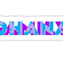 Ohana/Family - Blue & Purple Sticker