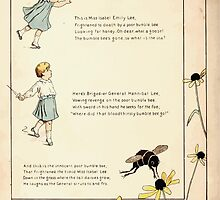 The Glad Year Round for Boys and Girls by Almira George Plympton and Kate Greenaway 1882 0026 Bumble Bee and Emily Lee by wetdryvac