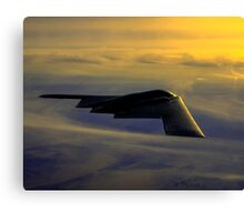 B-2 Spirit Bomber USAF digital painting Canvas Print
