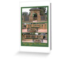 Wagga Wagga War Memorial Greeting Card