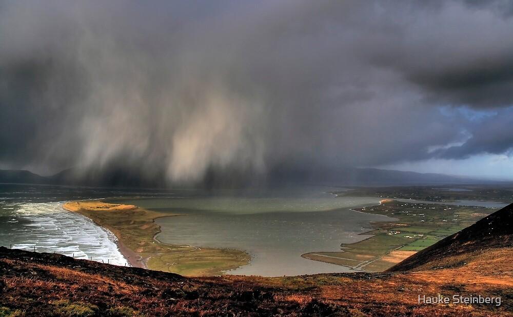 Rain Above Rossbeigh by Hauke Steinberg