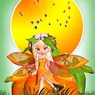 Moonies Cutie Pie Citrus Fairy - Orange Blossom by Moonlake
