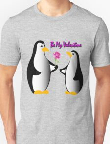 penguins in love proposing Unisex T-Shirt