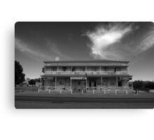 The Good 'ol Wilmo Hotel Canvas Print