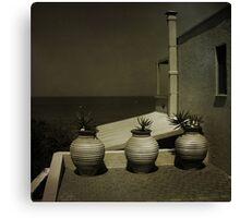 Greek Pots Canvas Print