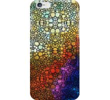 Colorful Stone Rock'd Abstract Art By Sharon Cummings iPhone Case/Skin