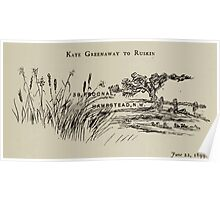 Kate Greenaway Collection 1905 0485 To Ruskin Poster