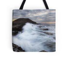 Rough Seas, Filey Tote Bag