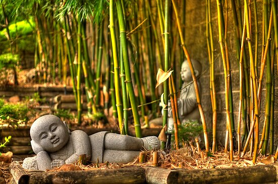 Lazy Buddha by Sam  Parsons