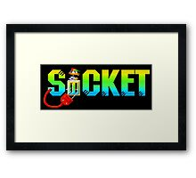 Socket Framed Print