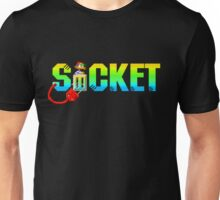Socket - SEGA Genesis Title Screen Unisex T-Shirt