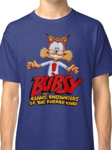 Bubsy - SNES Title Screen Classic T-Shirt